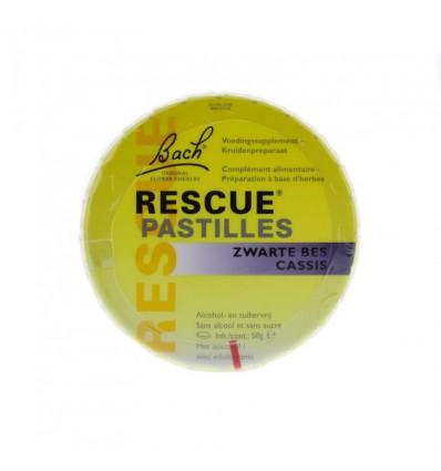 Bach Rescue pastilles zwarte bes 50 gram | € 8.35 | Superfoodstore.nl