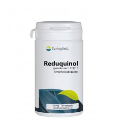 Springfield Reduquinol 50 mg 150 softgels | € 45.39 | Superfoodstore.nl