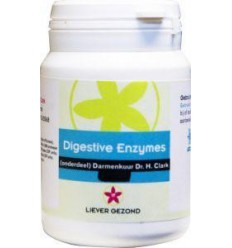 Liever Gezond Digest enzyme 50 capsules | € 15.08 | Superfoodstore.nl