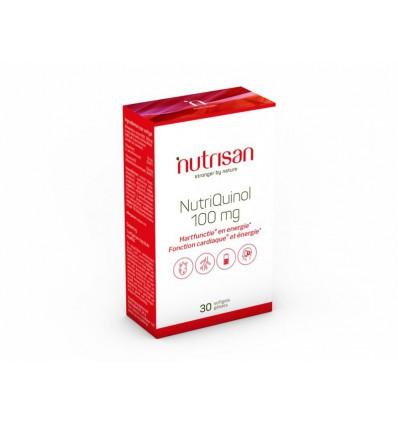 Nutrisan Nutriquinol 100 mg 30 softgels | € 22.49 | Superfoodstore.nl