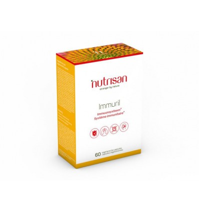 Nutrisan Immuril 60 vcaps | € 20.64 | Superfoodstore.nl