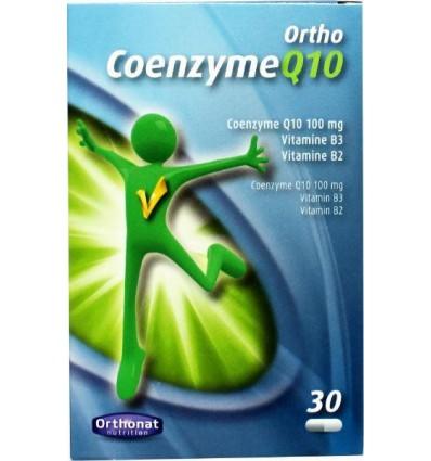 Orthonat Ortho coenzyme Q10 30 capsules   € 14.09   Superfoodstore.nl
