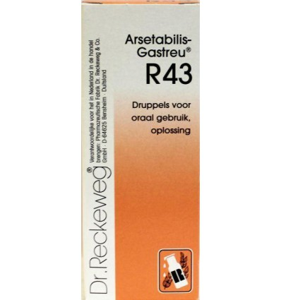 Dr Reckeweg Arsetabilis gastreu R43 50 ml | € 15.05 | Superfoodstore.nl