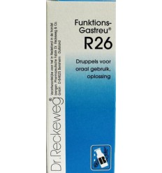 Dr Reckeweg Funktions gastreu R26 50 ml | € 15.05 | Superfoodstore.nl