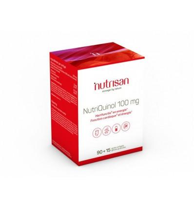 Nutrisan Nutriquinol 100 mg 90+15 softgels   € 60.59   Superfoodstore.nl