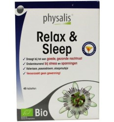 Physalis Relax & sleep 45 tabletten | € 13.26 | Superfoodstore.nl