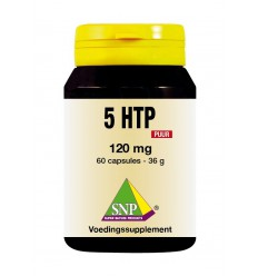 SNP 5 HTP 120 mg puur 60 capsules | € 34.10 | Superfoodstore.nl