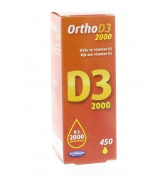 Orthonat Ortho D3 2000IU 450 druppels 20 ml | € 25.05 | Superfoodstore.nl