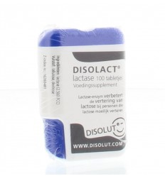 Disolut Disolact (lactase) 100 tabletten | € 22.27 | Superfoodstore.nl