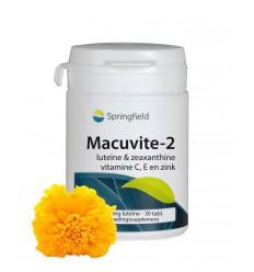 Springfield Macuvite 2 30 tabletten   € 14.85   Superfoodstore.nl