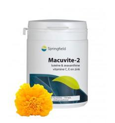 Springfield Macuvite 2 150 tabletten   € 53.89   Superfoodstore.nl