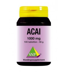 SNP Acai 1000 mg 100 tabletten | € 20.79 | Superfoodstore.nl