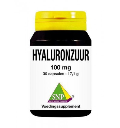 SNP Hyaluronzuur 100 mg 30 capsules | € 18.99 | Superfoodstore.nl