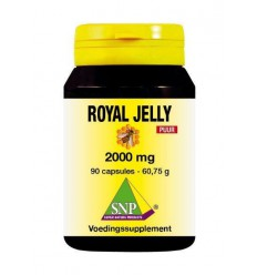 SNP Royal jelly 2000 mg puur 90 capsules | € 50.08 | Superfoodstore.nl