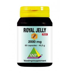 SNP Royal jelly 2000 mg puur 60 capsules | € 34.09 | Superfoodstore.nl