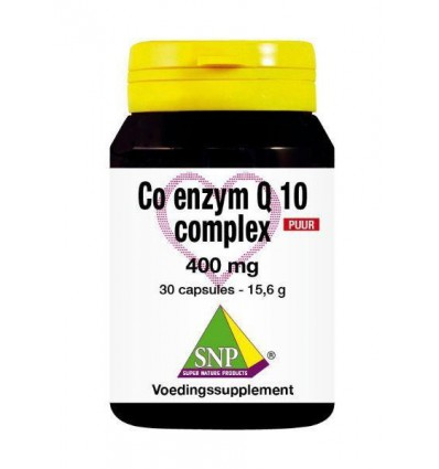 SNP Co enzym Q10 complex 400 mg puur 30 capsules | € 50.09 | Superfoodstore.nl