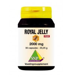 SNP Royal jelly 2000 mg puur 30 capsules | € 18.99 | Superfoodstore.nl