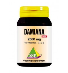 SNP Damiana extract 2500 mg puur 60 capsules | € 34.09 | Superfoodstore.nl