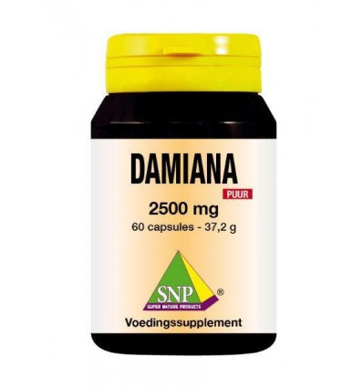 SNP Damiana extract 2500 mg puur 60 capsules | € 34.10 | Superfoodstore.nl