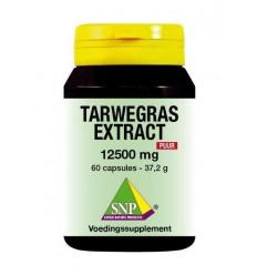 SNP Tarwegras extract 12500 mg puur 60 capsules | € 20.79 | Superfoodstore.nl