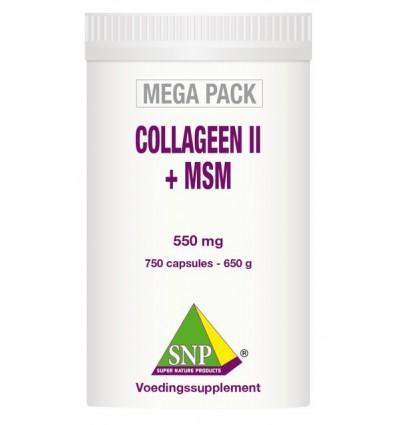 SNP Collageen II + MSM megapack 750 capsules | € 265.75 | Superfoodstore.nl