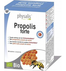 Physalis Propolis forte 30 capsules   € 12.46   Superfoodstore.nl