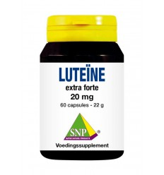 SNP Luteine extra forte 20 mg 60 capsules   € 18.99   Superfoodstore.nl