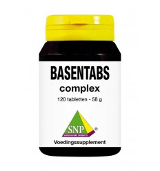 SNP Basentabs complex 120 tabletten | € 20.95 | Superfoodstore.nl