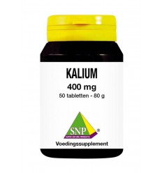 SNP Kalium 400 mg 50 tabletten | € 21.25 | Superfoodstore.nl