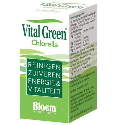Bloem Chlorella vital green 200 tabletten | € 14.25 | Superfoodstore.nl
