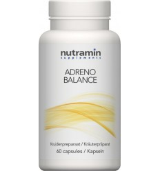 Pervital Adreno balance 60 capsules | € 34.73 | Superfoodstore.nl