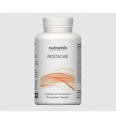 Nutramin NTM Prostacare 90 capsules | € 44.46 | Superfoodstore.nl