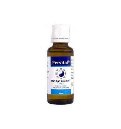Pervital Meridian balance 1 troost 30 ml | € 21.35 | Superfoodstore.nl