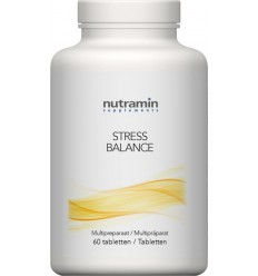 Pervital Stress balance 60 tabletten | € 27.80 | Superfoodstore.nl