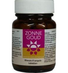 Zonnegoud Rheum frangula 120 tabletten | € 9.03 | Superfoodstore.nl