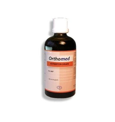 Orthomed Hyperton drain 100 ml | € 15.85 | Superfoodstore.nl