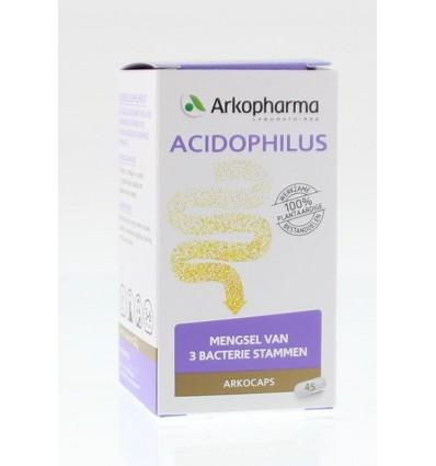 Arkocaps Acidophilus complex 45 capsules | € 7.79 | Superfoodstore.nl
