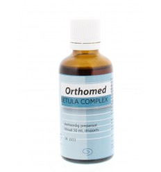 Orthomed Betula complex 50 ml | € 9.12 | Superfoodstore.nl