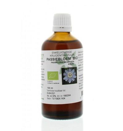 Natura Sanat Passiflora incarnata herb/passiebloem tinctuur bio 100 ml | € 11.17 | Superfoodstore.nl