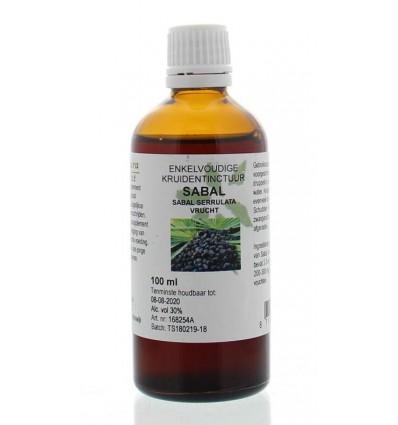 Natura Sanat Sabal serrulata fructus tinctuur 100 ml | € 9.99 | Superfoodstore.nl