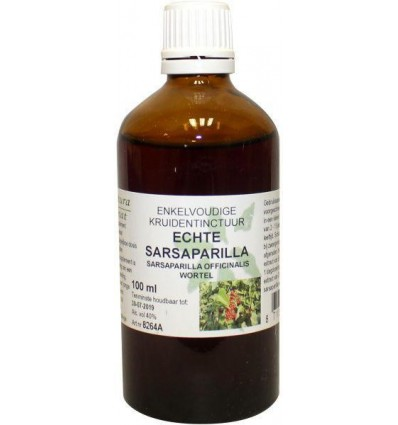 Natura Sanat Smilax off rad / sarsaparilla tinctuur 100 ml | € 11.17 | Superfoodstore.nl