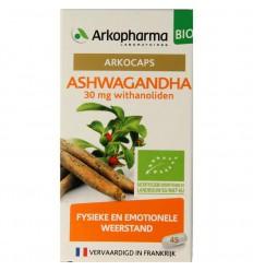Arkocaps Ashwaganda 45 capsules | € 12.25 | Superfoodstore.nl