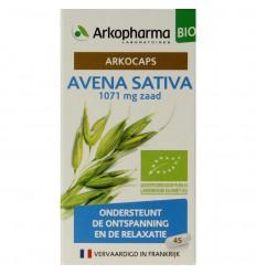 Arkocaps Avena sativa 45 capsules | € 7.79 | Superfoodstore.nl