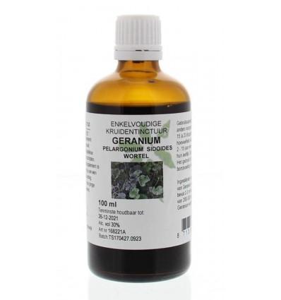 Natura Sanat Pelargonium / geraniumwortel tinctuur 100 ml   € 11.17   Superfoodstore.nl