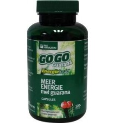 Rio Amazon Gogo guarana 500 mg 120 vcaps | € 18.47 | Superfoodstore.nl