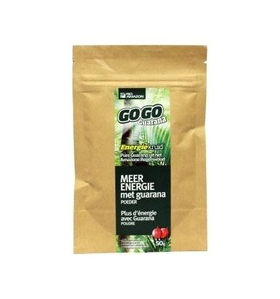 Rio Amazon Gogo guarana poeder zakje 50 gram | € 8.35 | Superfoodstore.nl