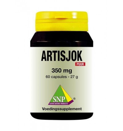 SNP Artisjok 350 mg puur 60 capsules | € 14.98 | Superfoodstore.nl
