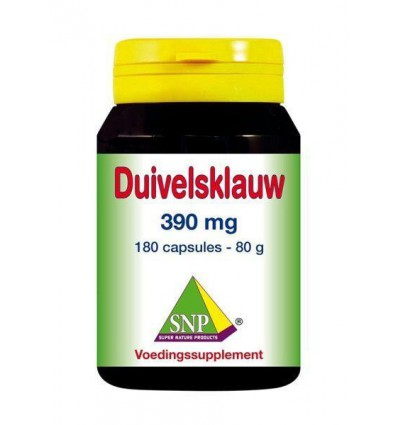 SNP Duivelsklauw 390 mg 180 capsules | € 34.10 | Superfoodstore.nl
