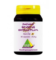 SNP Panax ginseng extract & royal jelly 700 mg 30 capsules | € 34.09 | Superfoodstore.nl