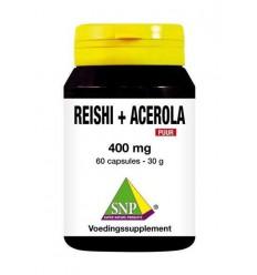 SNP Reishi acerola 400 mg puur 60 capsules | € 18.99 | Superfoodstore.nl
